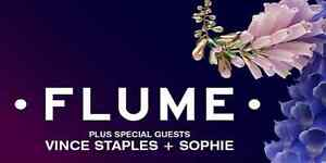 Selling 2 Flume seated tickets Sydney City Inner Sydney Preview