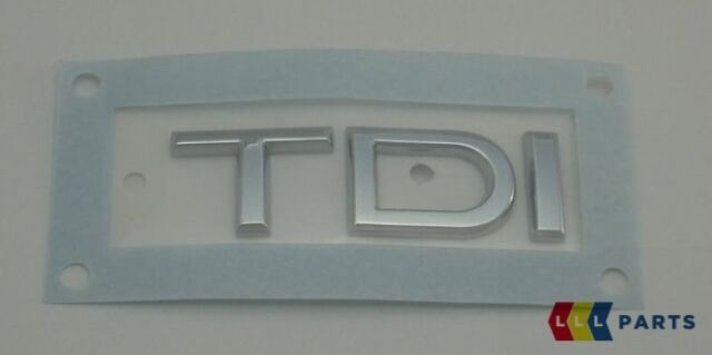 NEW GENUINE AUDI A3 A4 A5 A6 A7 Q5 Q7 TDI REAR EMBLEM BADGE CHROME 8J0853737 2ZZ