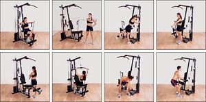 Exerciseur 5 stations Body Solid G1S