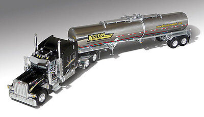 Dcp Altom Transport Peterbilt 389 Tractor 63  Mid Roof W  Chemical Tanker  1 64