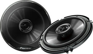 "Pioneer TS-G1645R 6-1/2"" 2-way car speakers"