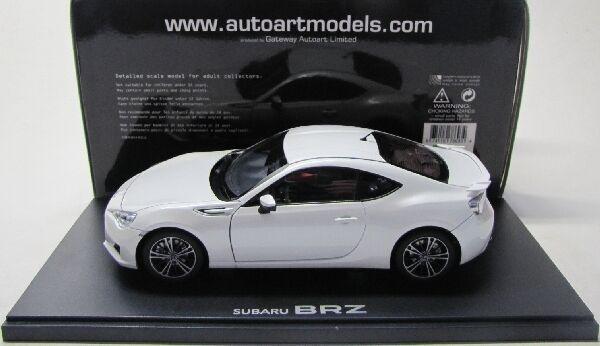 Subaru BR-Z Coupe ( 2012 ) weiss / AutoArt 1:18