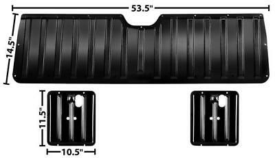 Chevy El Camino Tailgate - 1964-67 Chevrolet El Camino Tail Gate Inner Panel Set - 3 Pieces New