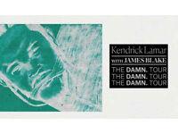 2 x Kendrick Lamar Standing 20th Feb 2018 @ Wembley SSE Arena £200 total ONO