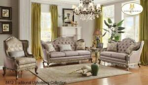 Indian Furniture Brampton | Traditional Sofa Set (MA609)