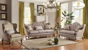 TRADITIONAL SOFA SET SALE BEST DEAL IN TOWN (BF-67)