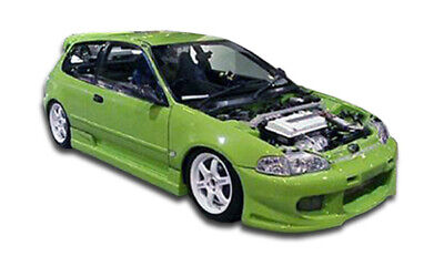 92-95 Honda Civic 2DR Buddy Duraflex Side Skirts Body Kit!!! 101097 ()