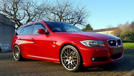 2008 Red E91 BMW 318i SE Touring 2.0 Petrol SWAP PX
