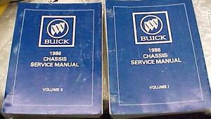 1986 factory Buick service manuals Cornwall Ontario image 3