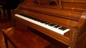 STEINWAY & SONS UPRIGHT PIANO: IMMACULATE, ALL ORIGINAL!