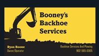 Booney's Backhoe Services