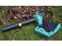 Bosch ALS 2500 Corded Garden Vacuum/ Shredder And Blower. Brand New. Still in the box, unopened