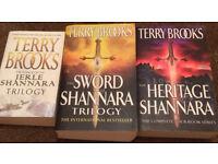 SHANNARA CHRONICLES + MORE (Terry Brooks Classic) Super sized paperbacks