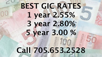 GIC Rates on the rise!