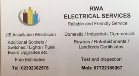 Electrician, NICEIC/ELECSA Registered, Portsmouth, Hampshire