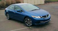 2014 Honda Civic ex Sedan - $7500 lease protection package!