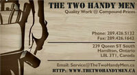 The Two Handy Men - Quality Work @ Compound Prices