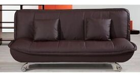 SOFA BED LEATHER ONLY £175, DELIVERED ANYWHERE IN BERKSHIRE