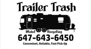 Trailer Removal and Site Clean up