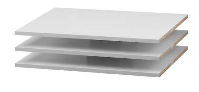 3X Regalböden Estante Para Armario Verona Archivos Accesorio Color Blanco