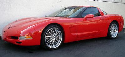 "19"" MRR GT1 Silver Wheels For Chevy Corvette C5 19x8.5 / 19x9.5 Set of 4 Rims  for sale  Glendale"