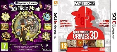 Professor Layton and the Miracle Mask & James Noir's Hollywood