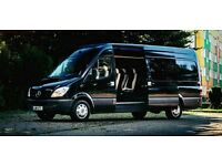 Luxury Mercedes Sprinter 8 Seats for Hire