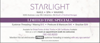Grand Opening Special in Windermere Starlight Nailspa