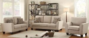 Nova sofa, love, and chair set, MADE IN BC, over 200 fabrics!!!