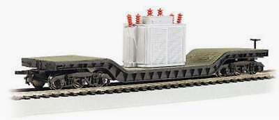 Bachmann Trains 52 Center Depressed Flat Car With Transformer Ho Scale