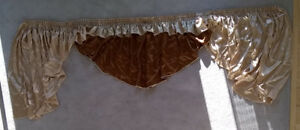 Custom Valance / Curtain Set