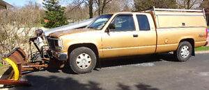 1989 GMC Sierra 1500 + Snow Plow - REDUCED - gone by May 31