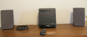 SONY Micro stereo iPod, mp3, CD, AM-FM, remote