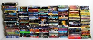 200 Science Fiction Books - Hardcover and Paperback Novels