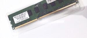 DDR3 RAM, 2GB x2