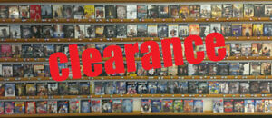 MOVIE BLOWOUT SALE- Hundreds of Used DVD's/Blu-Ray's