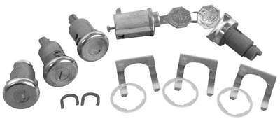 1961-62 Impala Ignition, Door, Glovebox & Trunk Original-style Lock Kit w/Long