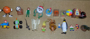 20 MIXED TOY LOT, BUG'S LIFE, FAMILY GUY, TROLL, CHARLIE BROWN