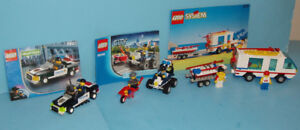 LEGO CITY, LOT de 3 SETS no 6351 - 7030 - 60006
