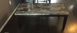 Coffee table & two matching end tables