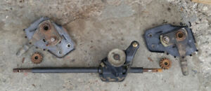 transmission & driveshaft for front self propelled lawnmower