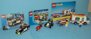 LEGO CITY, LOT de 3 SETS no 6351 - 7030 - 6006