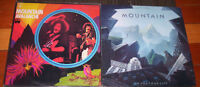 MOUNTAIN classic rock record albums AVALANCHE go for your life