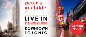 Peter Adelaide Condos For Sale - Toronto From High$300s VIP SALE