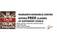 FREE ENGLISH COURSES - ALL LEVELS