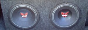 12 inc Rockford punch subs in mint condition