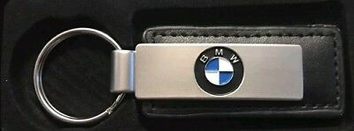 Stylish Genuine Leather BMW Keychain