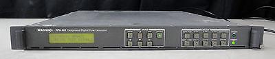 As-is - Tektronix Spg422 Component Digital Sync Generator