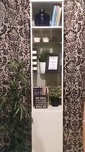 Last Call - IKEA Display Case and Shelf - Excellent Condition