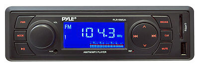 NEW PYLE PLR16MUA In-Dash MP3 Stereo Car Audio Receiver Player + USB/SD/AUX on Rummage